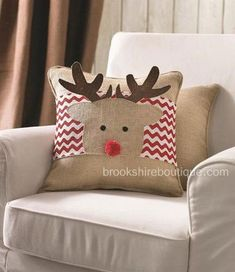 Uncommon December gifts and surprise insights helping put a smile for that lively handle this Xmas. Monogram Pillows, Burlap Pillows, Baby Pillows, Decorative Pillows, Throw Pillows, Handmade Christmas Gifts, Personalized Christmas Gifts, Christmas Crafts, Christmas Themes