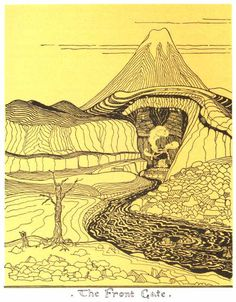 Lonely Mountain -- Tolkien