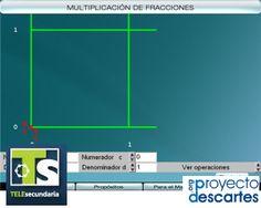 PROYECTO TELESECUNDARIA. Multiplicación de fracciones - 1. Que los alumnos resuelvan la multiplicación de fracciones, utilizando el modelo de áreas, mediante una representación gráfica.