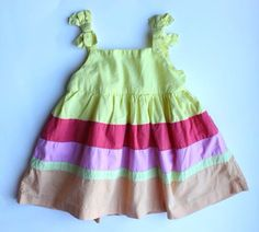 Children S Place Summer Dress Baby Girl Size 6 9 Months 4 75 Cad