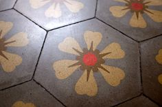 Modernist hidraulic tiles in Barcelona Mesa Bonita has been collecting hydraulic tiles for the past 10 years. All the tiles have been saved from the dumpsters and desperately need a second life. They can be turned into a pretty table, console, nightstand, frame, trivet, coaster… Contact me for information, I have a wide selection of styles and colors and a lot of ideas: Benedicte Bodard  Mesa Bonita/Barcelona Tiles benedictebodard@gmail.com www.mesabonita.es…