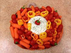 Thanksgiving veggie tray