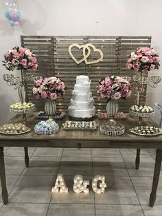Wedding Decoration Simple, Engagement Office of Art decorations Sorocaba / SP. Simple Wedding Decorations, Engagement Decorations, Simple Weddings, Birthday Decorations, Table Decorations, Civil Wedding, Diy Wedding, Rustic Wedding, Wedding Day