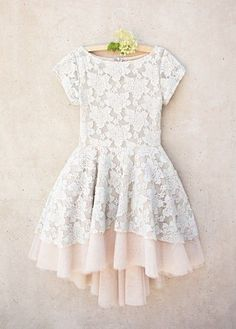Joyfolie Etta Dress in Champagne<BR>4 to 6 Years<br>Now In Stock
