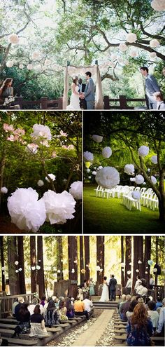 Five Ways to Decorate Your Garden Ceremony.