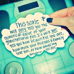 This scale...