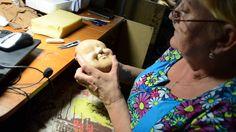 мастер класс по изготовлению скульптурной -текстильной куклы ч.9