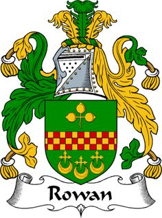 Rowan Clan Coat of Arms