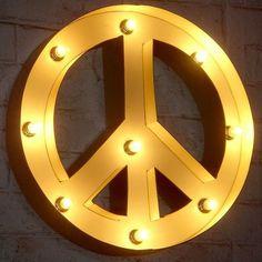 """Leuchte """"PEACE"""""""