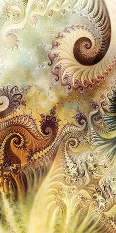 Tangled in a Dream by on DeviantArt Art Fractal, Fractal Geometry, Fractal Images, Fractal Design, Sacred Geometry, Fractal Patterns, 3d Fantasy, Visionary Art, Psychedelic Art