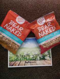 Bear Naked #BlossomVoxBox, received free to try.