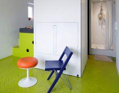 Дизайн интерьера: грамотная планировка маленькой квартиры площадью всего 21 кв.м.