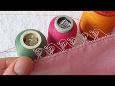 Thread Art, Thread Spools, Needle And Thread, Crochet Unique, Needle Tatting Patterns, Saree Kuchu Designs, Embroidered Clothes, Needle Lace, Fashion Sewing