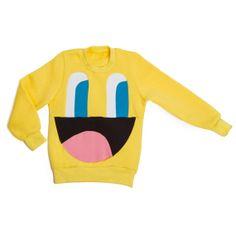 kid ruffeo: Empathetic Eyes Crew Sweatshirt