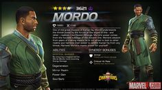 Mordo in Marvel Contest of Champions