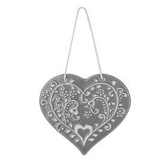 Decorated with a pretty wreath pattern featuring love hearts and leaves interwoven in a pretty vine design, this grey ceramic bathroom plaque from the exclusive. Vine Design, Love Birds, Love Heart, Ceiling Lights, Grey, Pattern, Guest Room, Home Decor, Bedroom