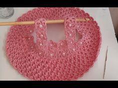 vestido a crochet o blusa a crochet para niñas - easy crochet dress - tambien puedes tejer este vestido como blusa a crochet o ganchillo con solo alargar el ...