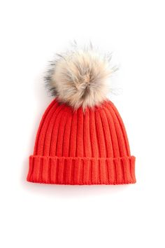 9e7267cbddc42 22 Affordable Gifts for Every Member of Your Squad. Cashmere HatFaux Fur Pom  ...