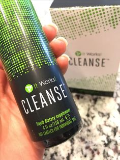 Gentle Cleanse All natural It Works Cleanse Detox Rebalance Aloe very blue agave sludge build up lose weight get healthy see results transformation