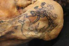 The ice maiden's tattoo: the oldest preserved specimen of tattooed human skin. 5th c. BCE
