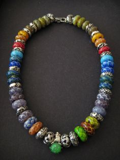 Dragonscale necklace