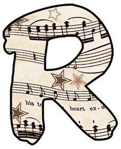 ArtbyJean - Vintage Sheet Music: Alphabet Set - Vintage Sheet Music Clipart Prints for cards, decoupage, scrapbooking. ArtbyJean - Vintage Sheet Music: Alphabet Set - Vintage Sheet Music Clipart Prints for cards, decoupage, scrapbooking. Vintage Sheet Music, Vintage Sheets, Music Clipart, Vintage Flower Tattoo, Diy Crafts Vintage, Music Paper, Music Music, Make Your Own Card, Create Words