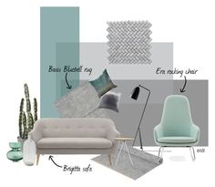 A home decor collage from April 2016 featuring fabric sofas, Normann Copenhagen and white furniture. Barcelona Chair, White Furniture, Fabric Sofa, Decoration, Stockholm, Collages, Sofas, Lounge, Table