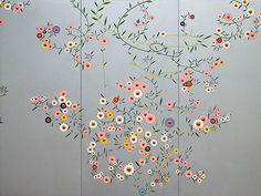 Cosmos by Takashi Murakami (村上隆) Superflat, Cosmos, Takashi Murakami, Japanese Modern, Japanese Prints, Japanese Artwork, Decoration, Art Decor, Japan Art
