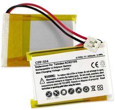 Empire Scientific CPP-554 Teledex Ac9210S 3.7V 650Mah Li-Pol Battery