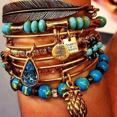 Living Water Charm Bracelet   Alex and Ani #charitybydesign #alexandani #charmedarms