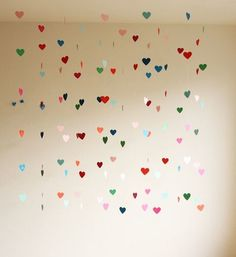 Hanging lovehearts  we heart it.com