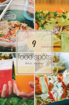 9 food spots to try in Maui, Hawaii