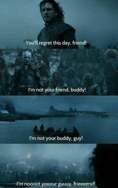It's all about subtext... #gameofthrones / http://saltlakecomiccon.com/slcc-2015-tickets/?cc=Pinterest