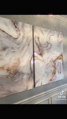 Diy Canvas Art, Diy Wall Art, Diy Wall Decor, Diy Art, Diy Crafts For Home Decor, Easy Home Decor, Diy Craft Projects, Craft Ideas, Diy Home Furniture
