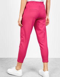 Ladies Hot Pink house boy pants