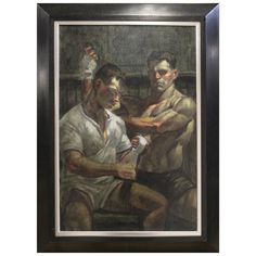 Portrait of Two Athletes by Mark Beard (Bruce Sargeant)