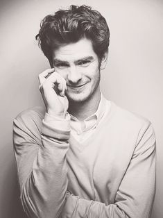 Andrew Garfield could not be any cuter.