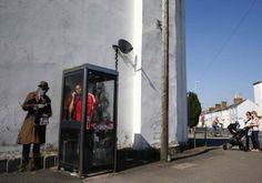 Cabinas de teléfono   15 cabinas telefónicas surrealistas alrededor del mundo - Yahoo Noticias