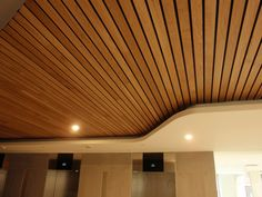 Ideawood | Slats Lamas by IDEATEC #architonic #nowonarchitonic #interior #design #furniture #ceiling #wood #panels #acoustic #sound #absorbing #decor