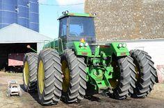 Big green tractors!