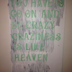 Love craziness