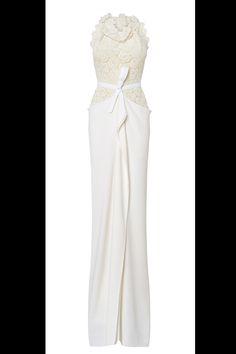 El diseñador Roland Mouret lanza una línea de vestidos de novia: el modelo Hexam