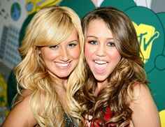 Miley with Ashley Tisdale 3/12