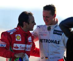 """F1. Felipe Massa: """"Dedica a Schumi sul casco. Prego per lui ogni giorno"""""""