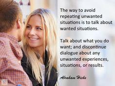 #AbrahamHicks #Contrast #Talk