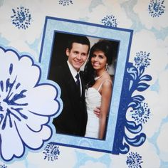 Me and My Cricut | Wedding Scrapbook Album 1 | http://meandmycricut.com