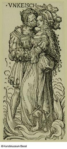 Hans Burgkmair d. Ä. Augsburg 1473–1531 Augsburg Vnkeisch (die Unkeuschheit)…