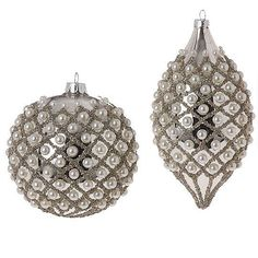 Pearlized Ornament 6in- Now $31.96