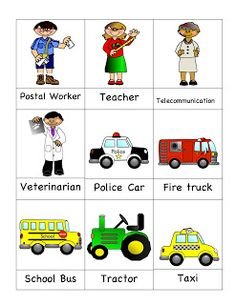 Community Helpers   Kids App  screenshot