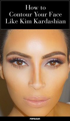 Want to learn how to contour your face like Kim Kardashian? Try these contouring and highlighting tricks! A slimmer nose and perfectly chiseled cheekbones are just a few brushstrokes away. More here....... https://www.youtube.com/watch?v=sGY7jt4FDNE #makeup #makeupartist #makeupbrushes #eye